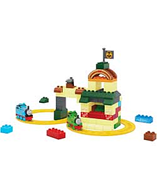 Mega Bloks Thomas And Friends Fun At Tidmouth Sheds Playset. Blocks and Bricks