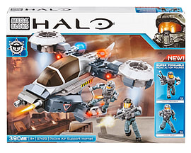 Mega Bloks Halo NMPD Police Hornet. Blocks and Bricks
