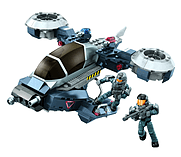 Mega Bloks Halo NMPD Police Hornet. screen shot 1
