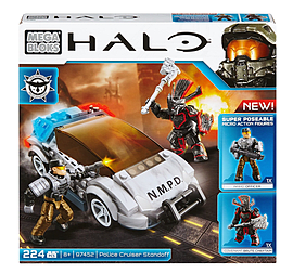Mega Bloks Halo NMPD Police Cruiser. Blocks and Bricks
