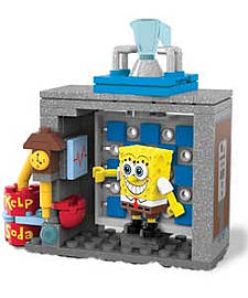 Mega Bloks Spongebob Squarepants Movie Playset Asst. Blocks and Bricks