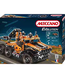 Meccano Evolution Tow Truck. Blocks and Bricks