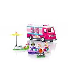 Mega Bloks Barbie Luxury Camper. Blocks and Bricks