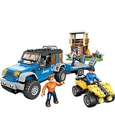 Mega Bloks Jeep Forest Expedition. Blocks and Bricks