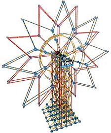 KNEX 6 Foot Double Ferris Wheel. Blocks and Bricks