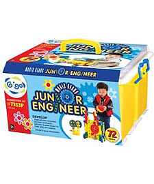 Junior Engineer Magic Gears. Blocks and Bricks
