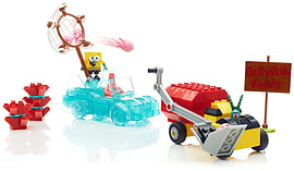 Mega Bloks Spongebob Squarepants Invisible Boat Race. screen shot 1