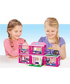 Mega Bloks Barbie Mansion. Blocks and Bricks