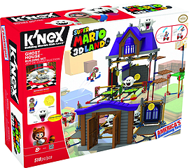 KNEX Super Mario Ghost House Set. Blocks and Bricks