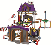 KNEX Super Mario Ghost House Set. screen shot 1