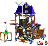 KNEX Super Mario Ghost House Set. screen shot 2