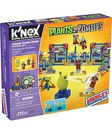 KNEX Plants Vs Zombies Jetpack Zombie. Blocks and Bricks