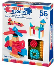 Bristle Blocks Basic Builder Box - 56 Pieces. Blocks and Bricks