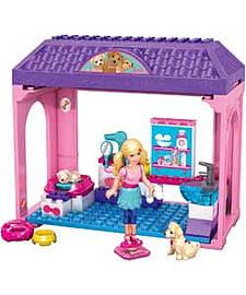 Mega Bloks Barbie Pet Salon. Blocks and Bricks