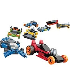 Mega Bloks Hot Wheels Super Race Set - 8 Pack. Blocks and Bricks