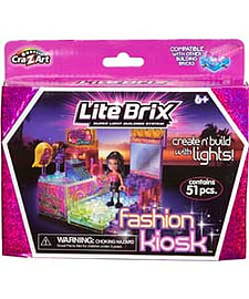Little Brix Fashion Wig Kiosk. Blocks and Bricks
