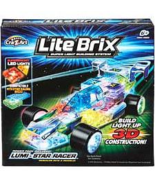 Lite Brix Lumi Star Racer. Blocks and Bricks