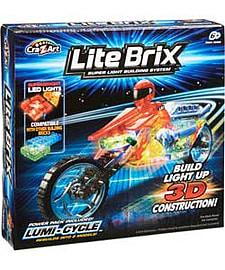 Lite Brix Lumi Cycle. Blocks and Bricks