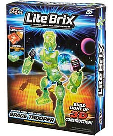 Lite Brix Space Trooper. Blocks and Bricks