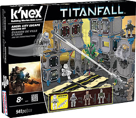 KNEX Titanfall Angel City Escape. Blocks and Bricks