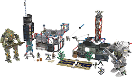 KNEX Titanfall Ultimate Angel City Campaign. screen shot 4