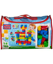 Mega Bloks First Build Deluxe Build Bag. Blocks and Bricks