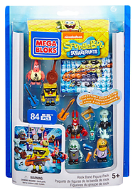 Mega Bloks Spongebob Rock Band Figures Pack. Blocks and Bricks