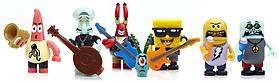 Mega Bloks Spongebob Rock Band Figures Pack. screen shot 1