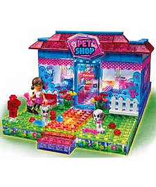 Girls' Lite Brix Liteup Pet Shop. Blocks and Bricks