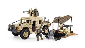 Mega Bloks Call Of Duty Light Armour Firebase. screen shot 1