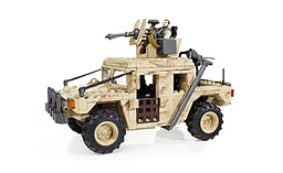 Mega Bloks Call Of Duty Light Armour Firebase. screen shot 2
