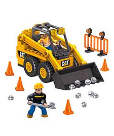 Mega Bloks Caterpillar Skid Steer Loader. Blocks and Bricks