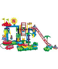 Gears Dizzy Funland Construction Set. Blocks and Bricks