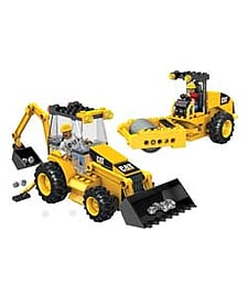 Mega Bloks Caterpillar Roadbuilding Unit. Blocks and Bricks