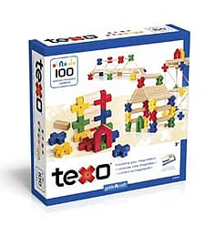 Guidecraft Texo 100 Piece Block Set. Blocks and Bricks