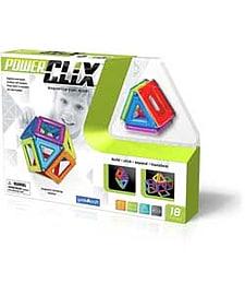 Guidecraft Powerclix 18 Piece Set. Blocks and Bricks
