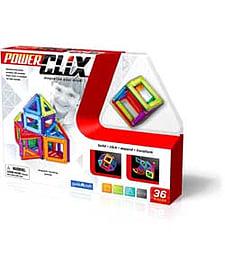 Guidecraft Powerclix 36 Piece Set. Blocks and Bricks