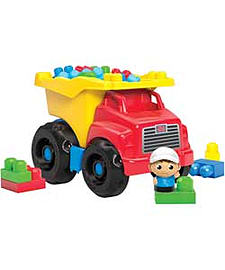 Mega Bloks First Builders Dump Truck. Blocks and Bricks