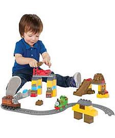 Mega Bloks Percy's Brave Tale. Blocks and Bricks