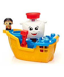 Mega Bloks Pirate Ship Pat. Blocks and Bricks