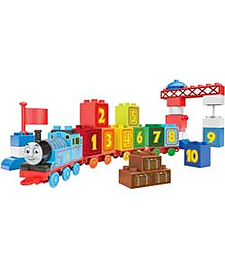 Mega Bloks Thomas Learning Train. Blocks and Bricks