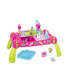 Mega Bloks First Build Little Princess Fairytale Table. Blocks and Bricks