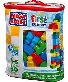 Mega Bloks First Builders Big Building Bag. Blocks and Bricks