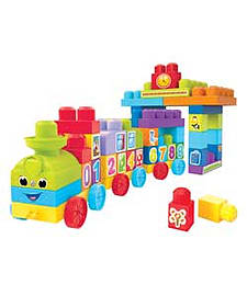 Mega Bloks First Builders 123 Learning Train. Blocks and Bricks