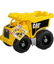 Mega Bloks Cat Large Dump Truck. Blocks and Bricks