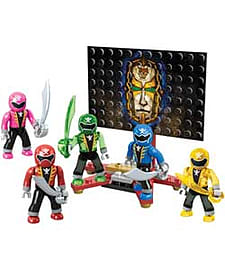Megabloks Power Rangers Super Megaforce Figure Pack. Blocks and Bricks