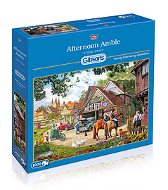 Afternoon Amble 1000 Pieces Gibsons Traditional Games