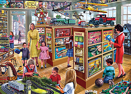 The Toy Shop 1000 Pieces Gibsons Traditional Games