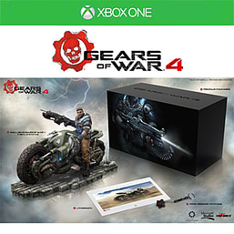 Gears of War 4 Collector's Edition- No Software XBOX ONE Cover Art