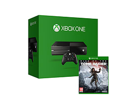 Xbox One 500GB Bundle with Rise of the Tomb Raider Xbox One